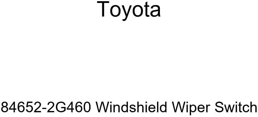 Toyota 84652-2G460 Windshield Wiper Switch