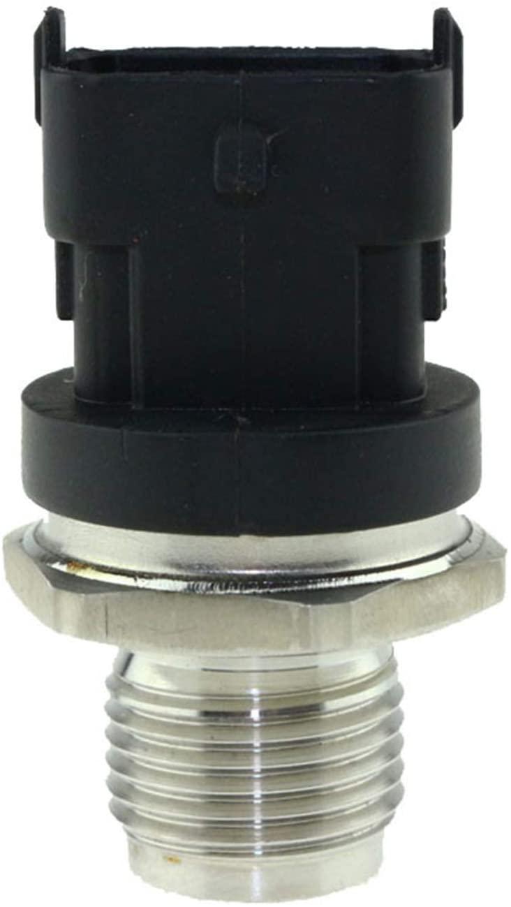 PANGOLIN 0281006112 0281006325 Fuel Rail High Pressure Sensor 1800 Bar Common Injection 0281002846 0281002937 for Cummins IVECO DAF MAN Aftermarket Part, 3 Month Warranty