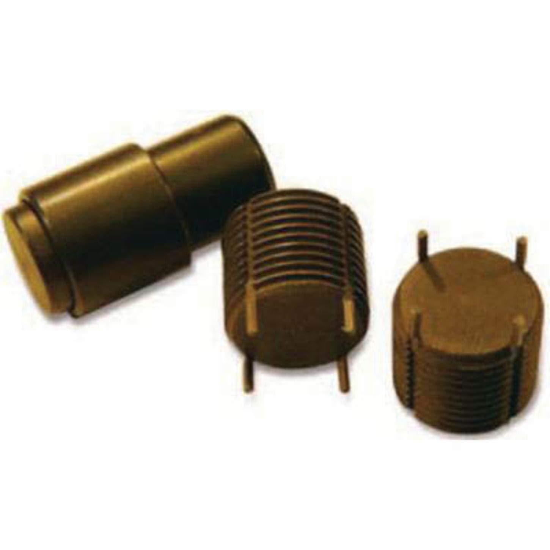 Recoil 77104 Solid Key Locking Insert, External M10 x 1.25, Class 6G, C1215 Steel W/ 302 SST Keys, Zinc Phosphate (1 PK)