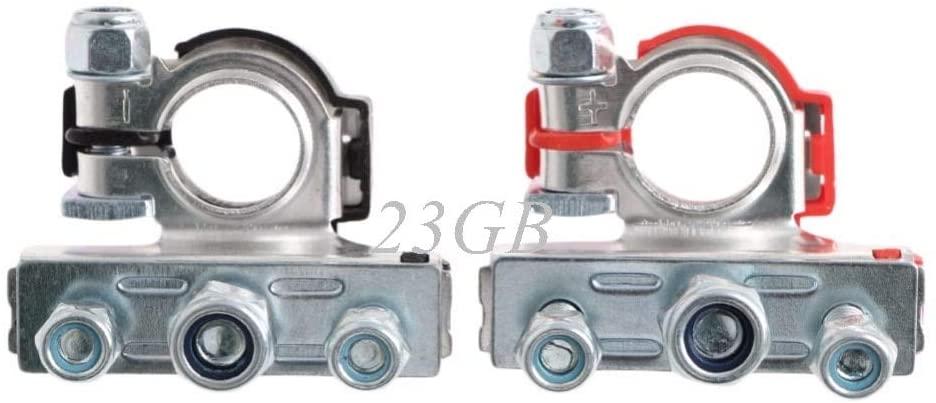 Ochoos Leisure Battery Terminals Connectors Clamps for Car Caravan Motorhome 2PCS/Set M10