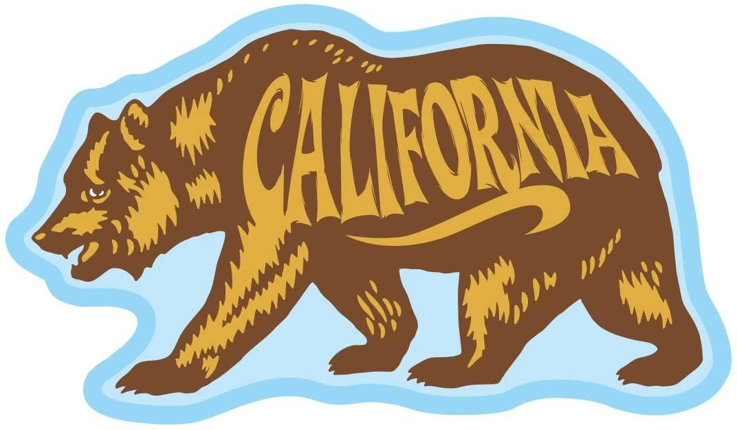 Life at Sea Sticker (CA Bear 1)