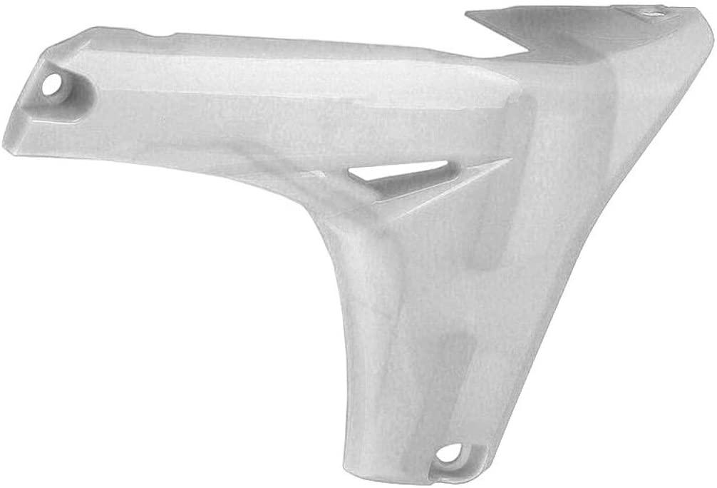 Acerbis Lower Radiator Shrouds (White) for 14-18 Yamaha YZ250F
