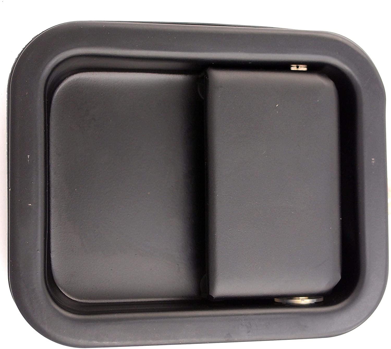 Dorman 93588 Front Passenger Side Exterior Door Handle for Select Jeep Models, Black