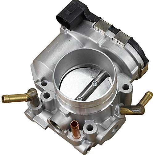 AIP Electronics Premium Complete Throttle Body Assembly TB Compatible Replacement For 2001-2005 Volkswagen Beetle Golf and Jetta 2.0L L4 AZG Oem Fit TB48
