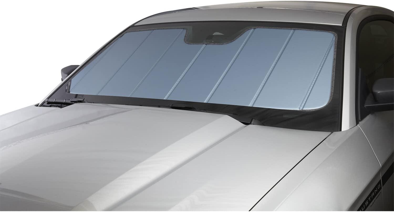 Covercraft UV10911BL Blue Metallic UVS 100 Custom Fit Sunscreen for Select Volkswagen Golf/GTI Models - Laminate Material, 1 Pack