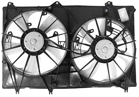APDI 6034149 Dual Radiator and Condenser Fan Assembly