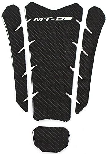 Carbon 3D Sticker Decal Emblem Protection Tank Pad Cas Cap for Yamaha YZF R3(TypeD)