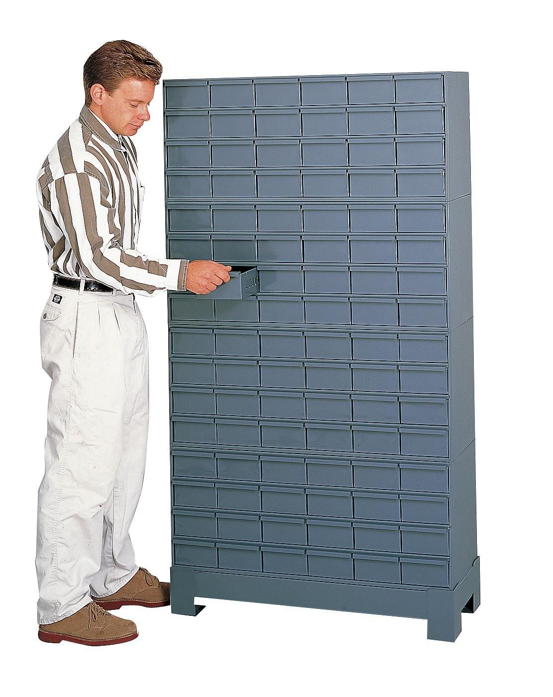 Durham 017-95 Prime Cold Rolled Steel Cabinet, 48 Drawer, 12-1/4
