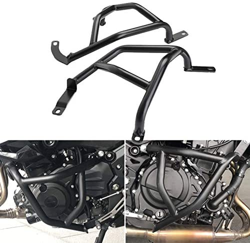 CHENDGE2 Engine Bumper Guard Crash Bar Protector Fit for Kawasaki Z250 Z400 2018-2020