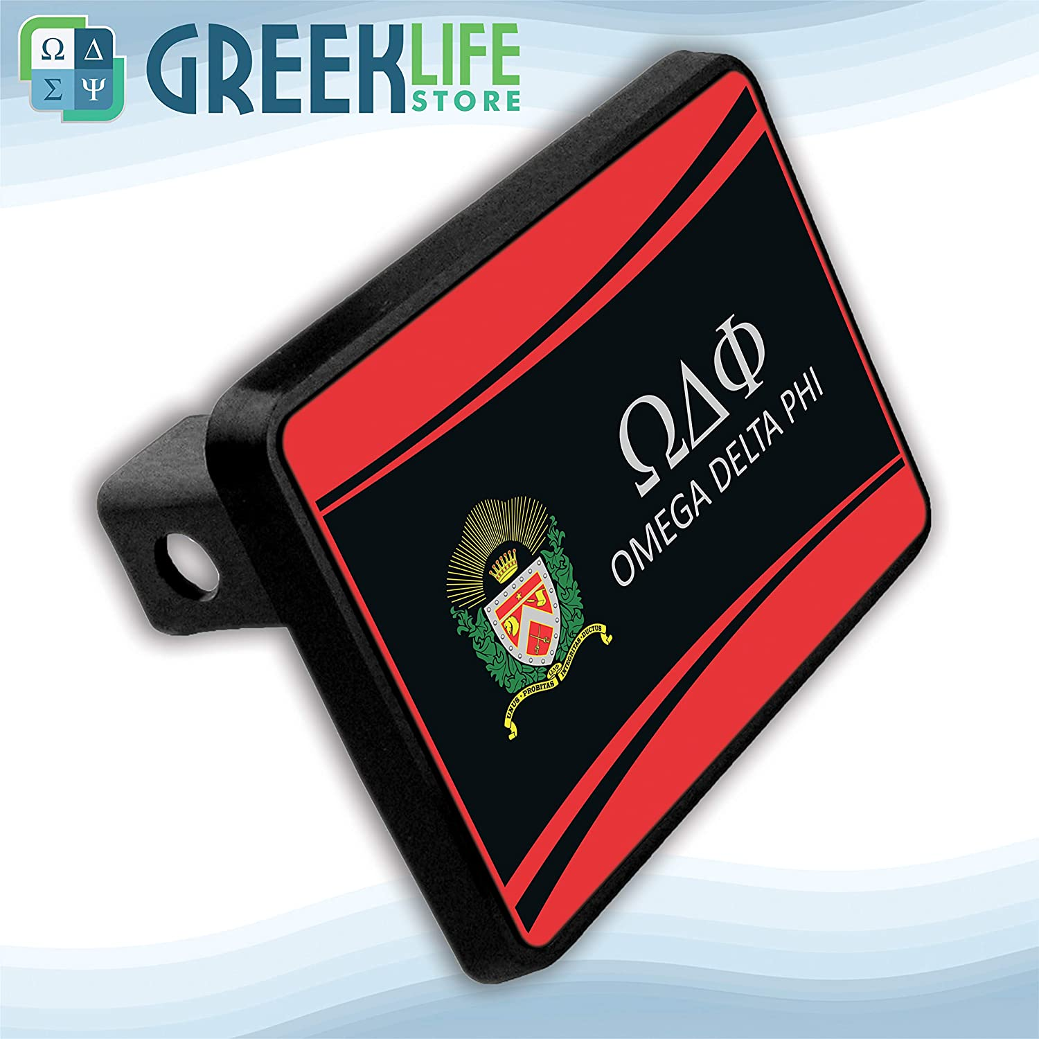 greeklife.store Omega Delta Phi Hitch Cover