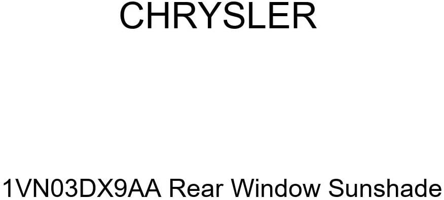 Chrysler Genuine 1VN03DX9AA Rear Window Sunshade