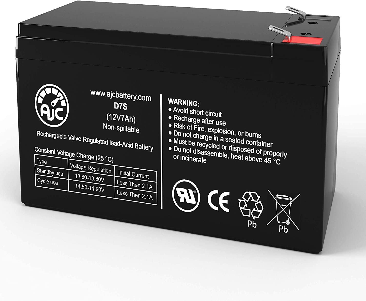 Razor Razr MX400 12V 7Ah Electric Scooter Battery - This is an AJC Brand Replacement