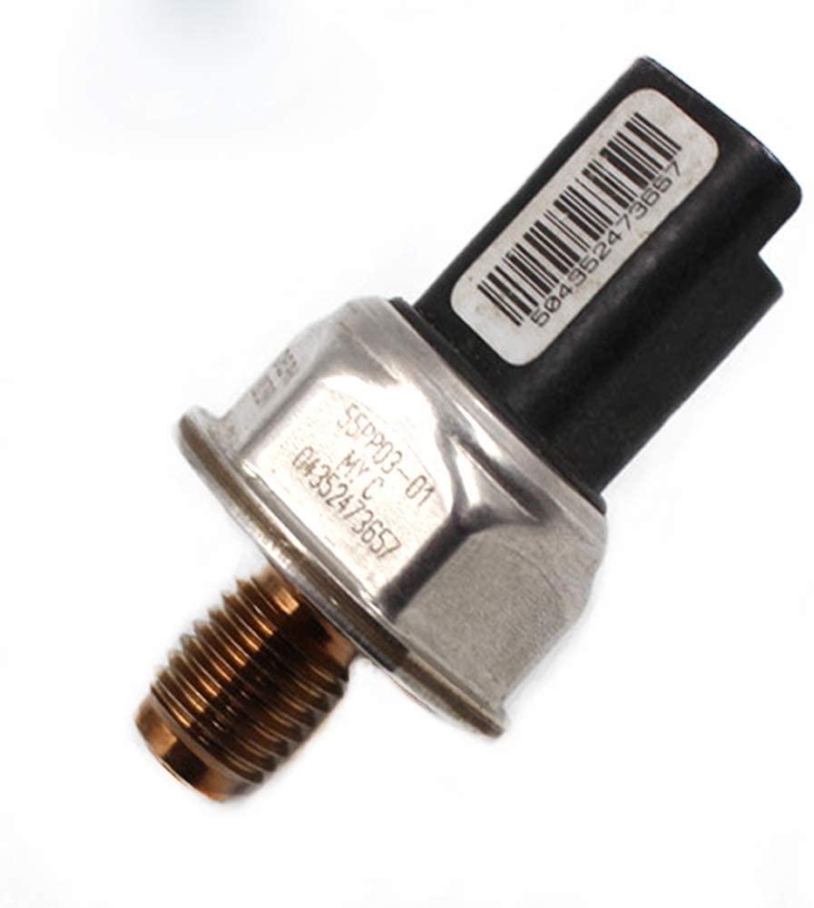 Diesel Fuel Pressure Rail Sensor 55PP03-01 9307Z507A Fit for Ford SsangYong Rexton Renault Delphi Diesel