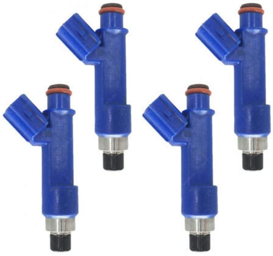 Bernard Bertha 4PCS Car Fuel Injector Nozzle OEM 23250-0D050 232500D050 Fit for Toyota Corolla Matrix Vibe FWD