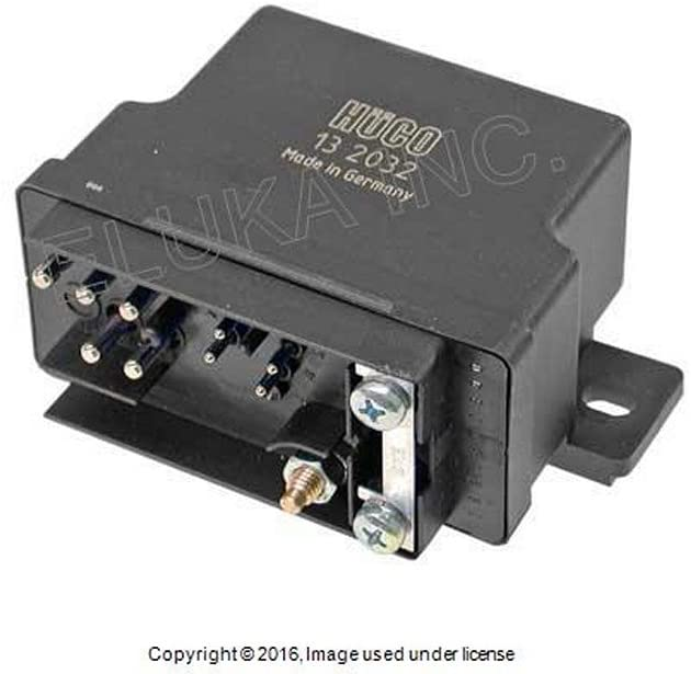 Mercedes-Benz Diesel Engine Glow Plug Relay (Preglow Time Relay) 300 SD 300CD 300D 300TD