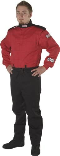 G-Force 4525MEDRD Multi-Layer Racing Suit Red Medium