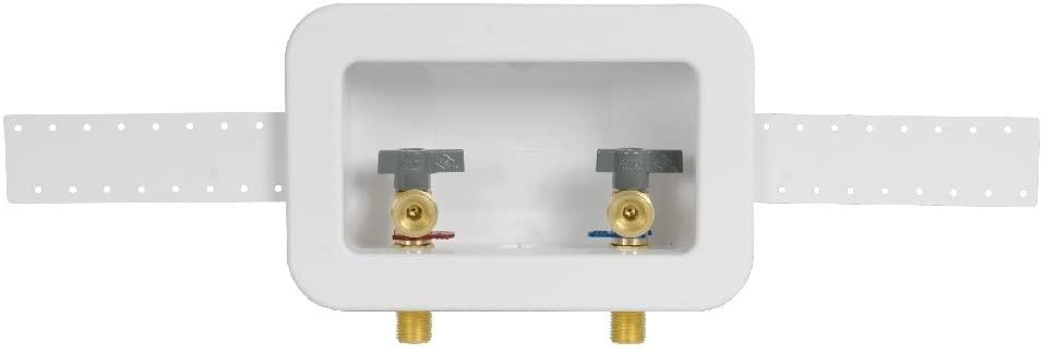 Oatey 38110 Centro II Unassembled Washing Machine Outlet Box CPVC-1/4 Turn
