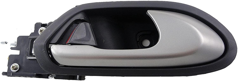 Dorman 81445 Front Passenger Side Interior Door Handle for Select Honda Models, Gray and Silver
