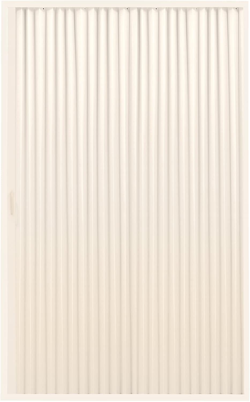 RecPro RV Shower Doors | RV Pleated Folding Shower Doors (Ivory) 36x 57 3657 Pleated and Folding Shower Door