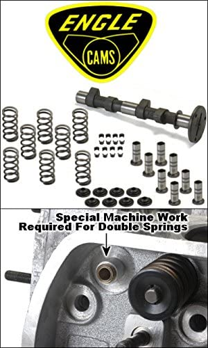 Engle Vz25 Stage 2 Camshaft Kit With Lifters, Single Valve Springs, Retainers, And Locks
