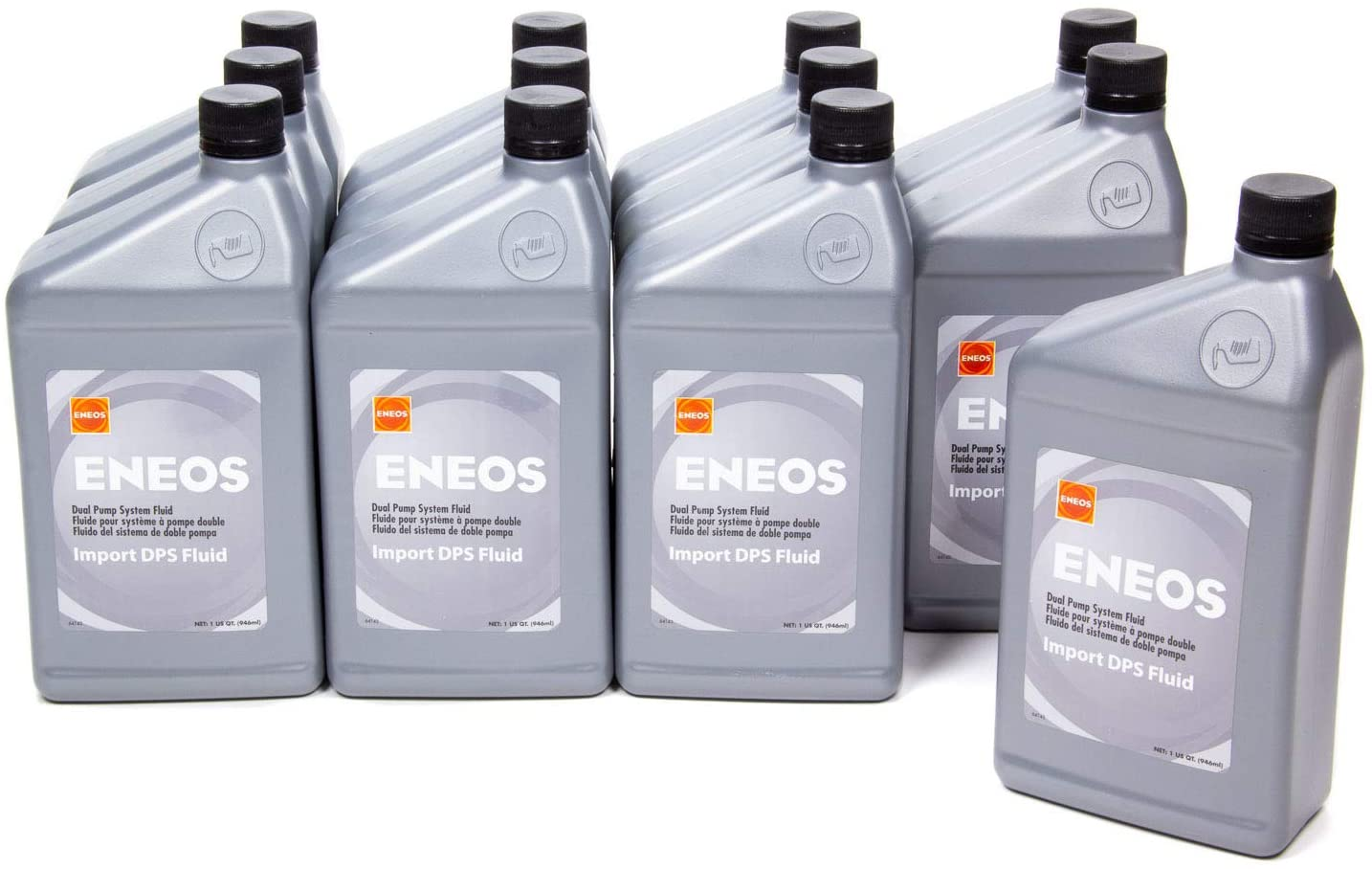 Eneos 3410-301 Transmission Fluid, 12 Quart, 1 Pack