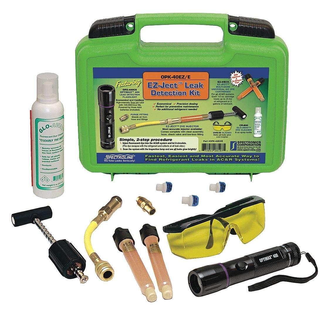 Spectroline Leak Detection Kit, Multi-Dose, (3) AAA