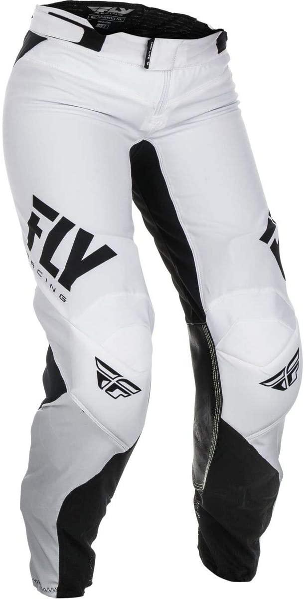 Fly Racing 2019 Girl's Lite Pants (22) (White/Black)