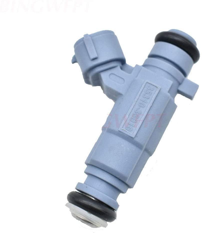 Fuel Injector 3531038010 35310-38010 842-12256 84212256 for Hyundai Santa Fe XG350 Kia Optima Amanti 2.4L 3.5L
