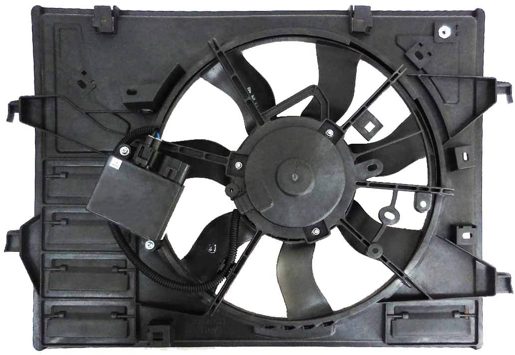 DEPO-316-55040-130 for Mazda MX5 Miata 16-18 / M-X5 Miata RF 17-18 Manual TraNissan Fan Assembly with Control Module