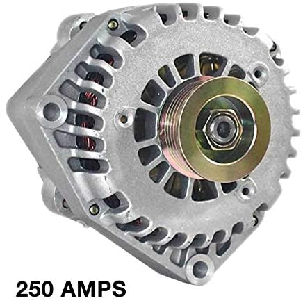 Rareelectrical NEW HIGH AMP 250A ALTERNATOR COMPATIBLE WITH 02 03 04 CHEVROLET AVALANCHE 5.3 10464443 10480390