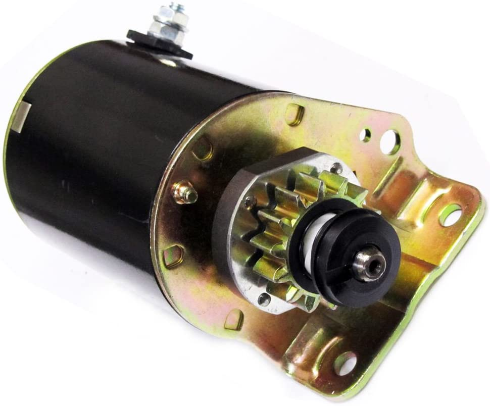 Caltric Starter Compatible With Briggs Stratton 693551 14 Tooth Craftsman