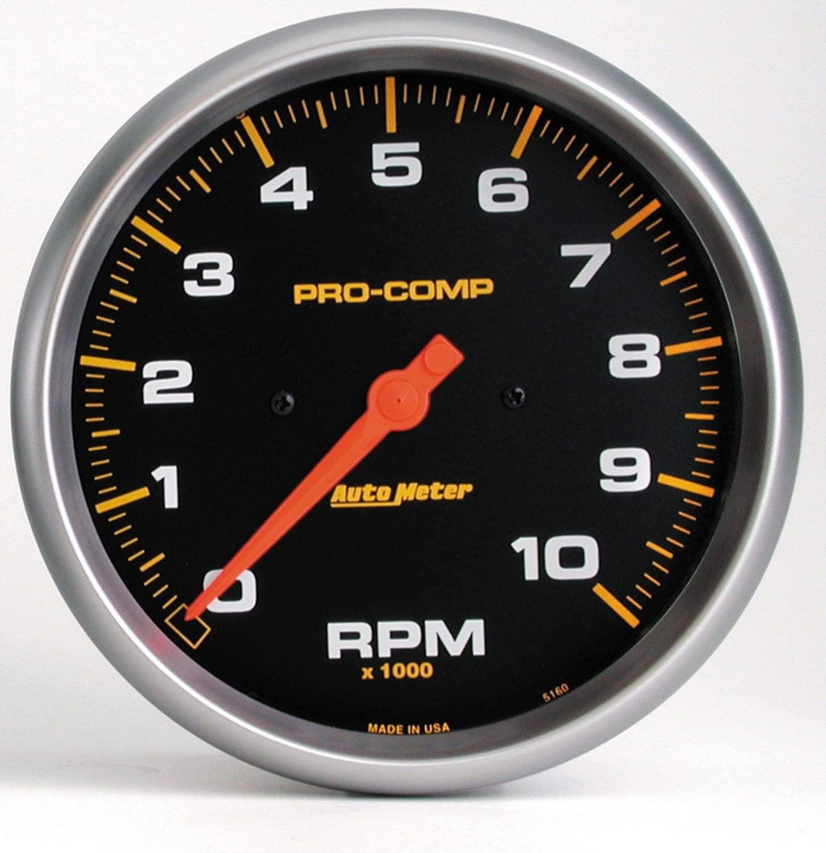 Auto Meter 5160 Pro-Comp Electric In-Dash Tachometer