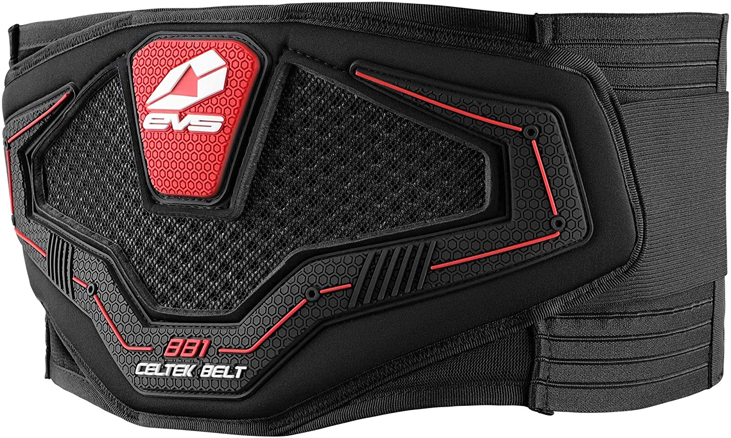 EVS Sports Mens Kidney Belt (Black, Medium)
