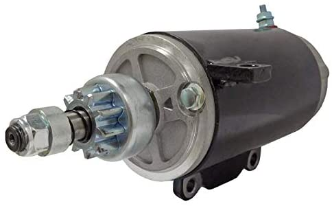 New Starter Replacement For 1969-1994 Evinrude Johnson OMC 65HP - 140HP 385529 386465 389380 389954 391554 585051 585057 585196 586282 586283