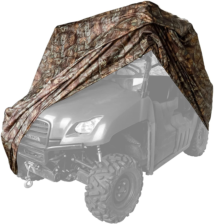 Black Boar UTV Cover, Protect Your UTV from Rain, Snow, Dirt, Debris, Damaging UV Rays While in Storage (Jungle Camo) (66023)