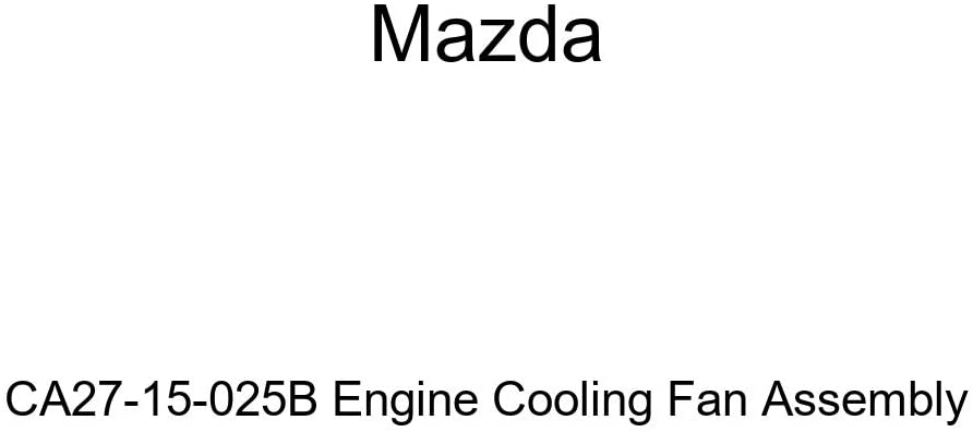 Mazda CA27-15-025B Engine Cooling Fan Assembly