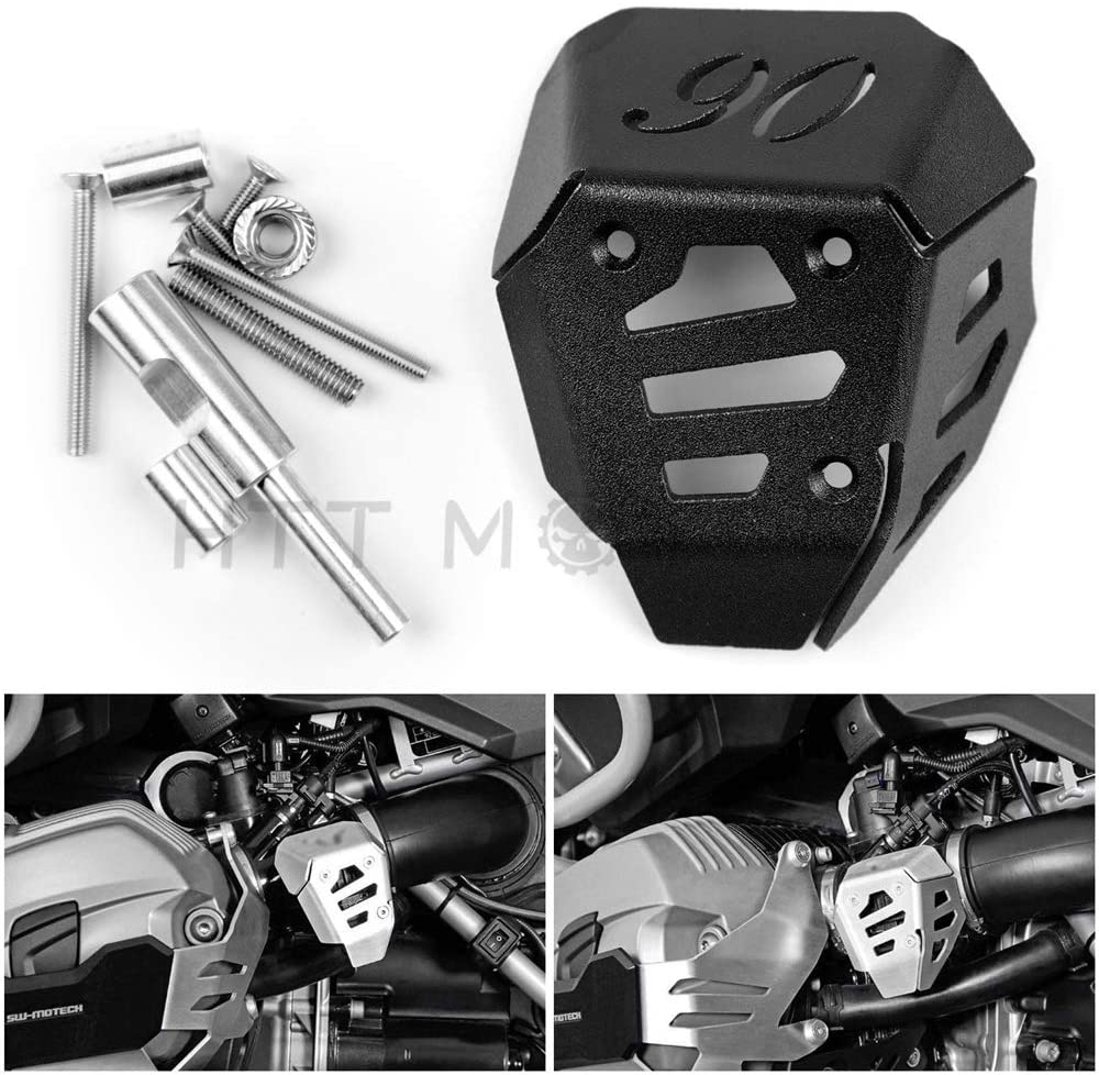 HTTMT FRAME004- Potentiometer Guard Protector Compatible with BMW R1200GS 2008-2012 R Nine T 2014-2018 UE Black