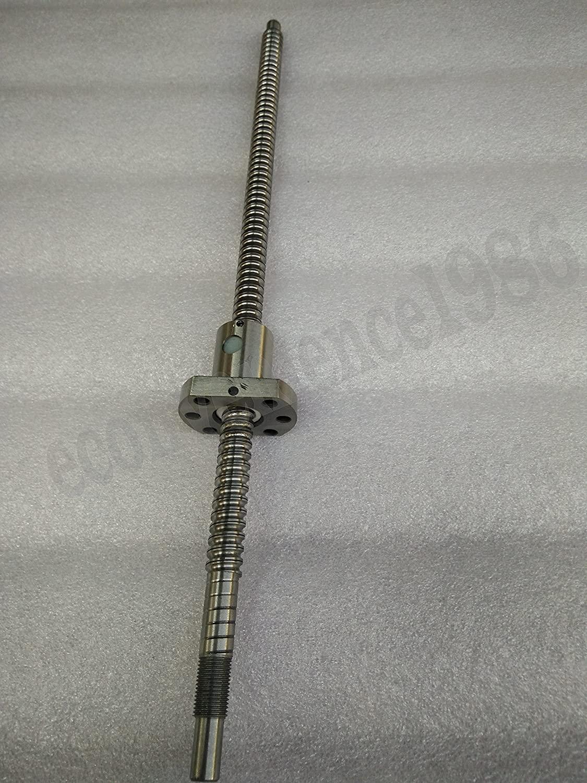anti backlash ball screw RM2510-900mm-C7 ballscrew & Machine end