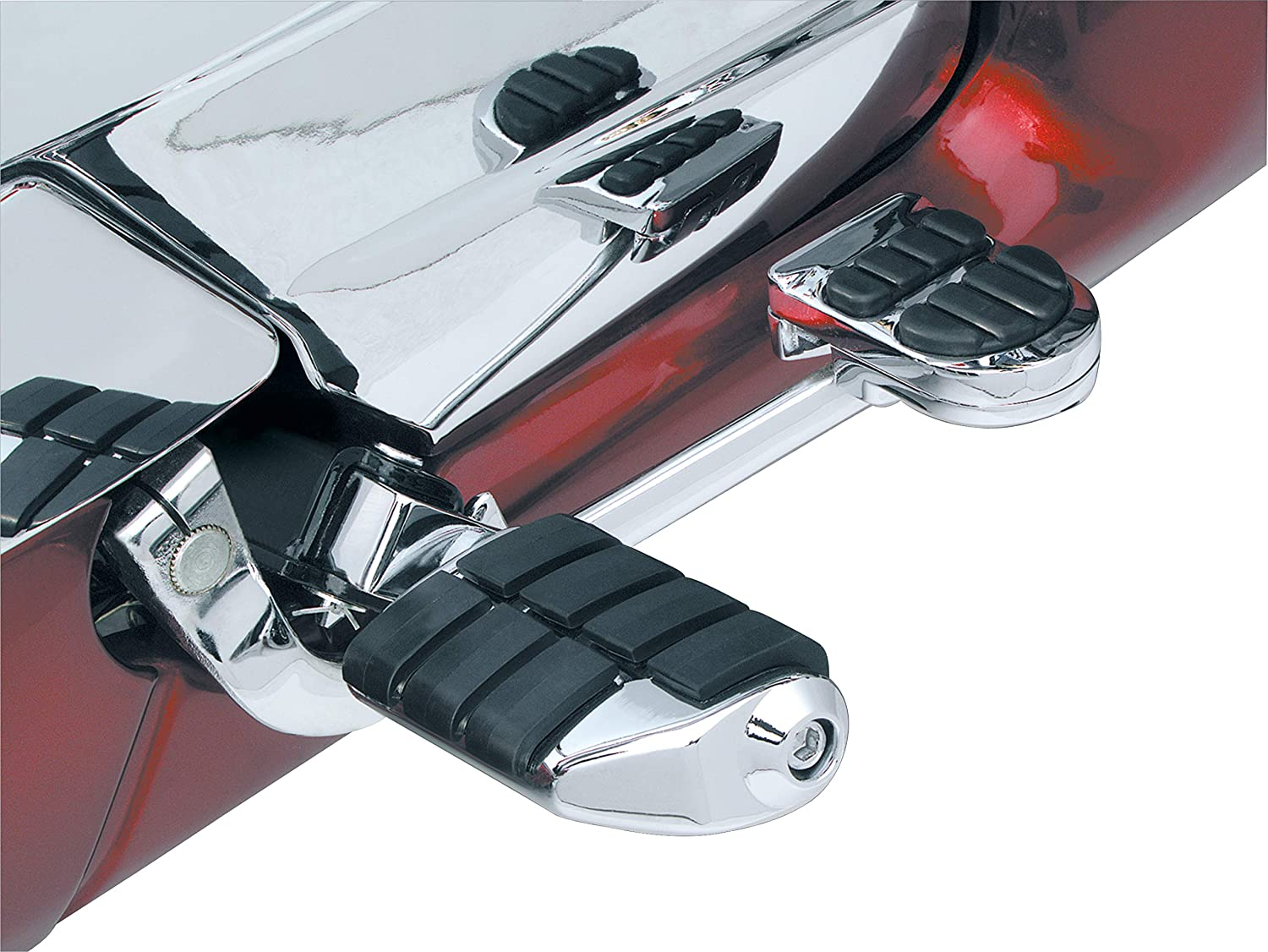 Kuryakyn 4025 Motorcycle Foot Control: ISO Brake Pedal Pad for 1998-2005 Honda Gold Wing & Valkyrie Motorcycles, Chrome