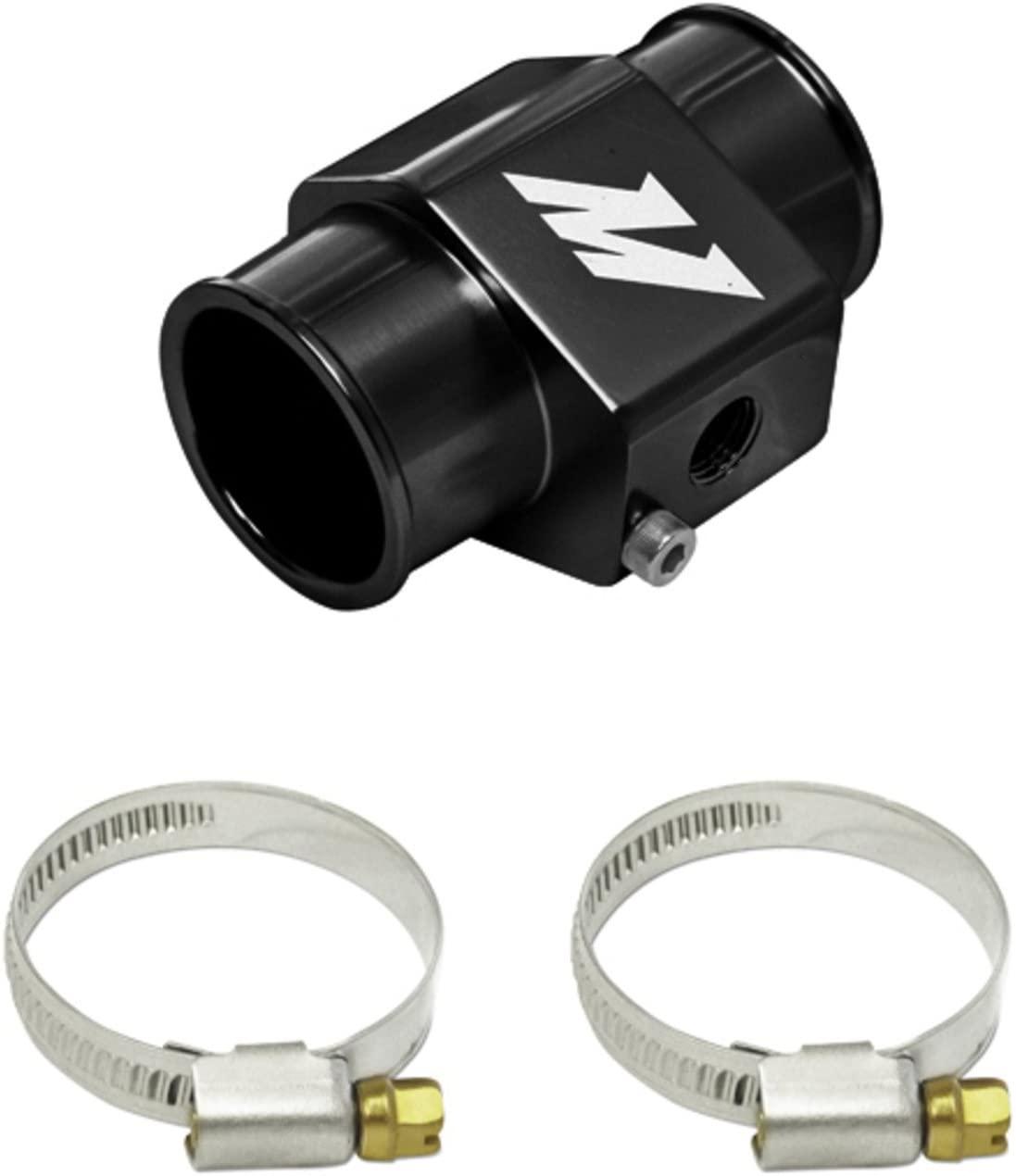 Mishimoto Water Temperature Sensor Adapter - 34mm - Black