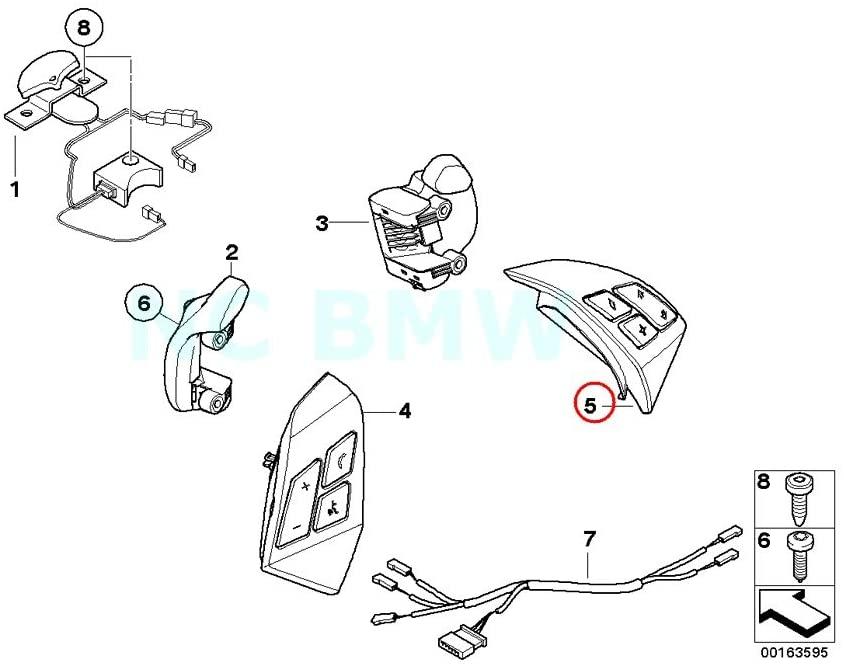 BMW Genuine Right Mfl Switch