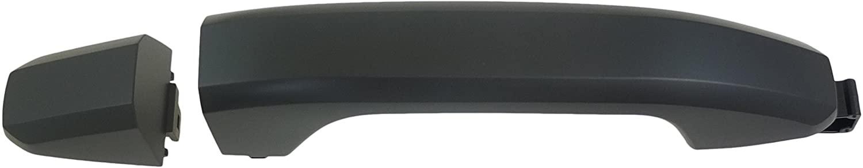 Dorman 82538 Exterior Door Handle for Select Chevrolet/GMC Models, Primed Black
