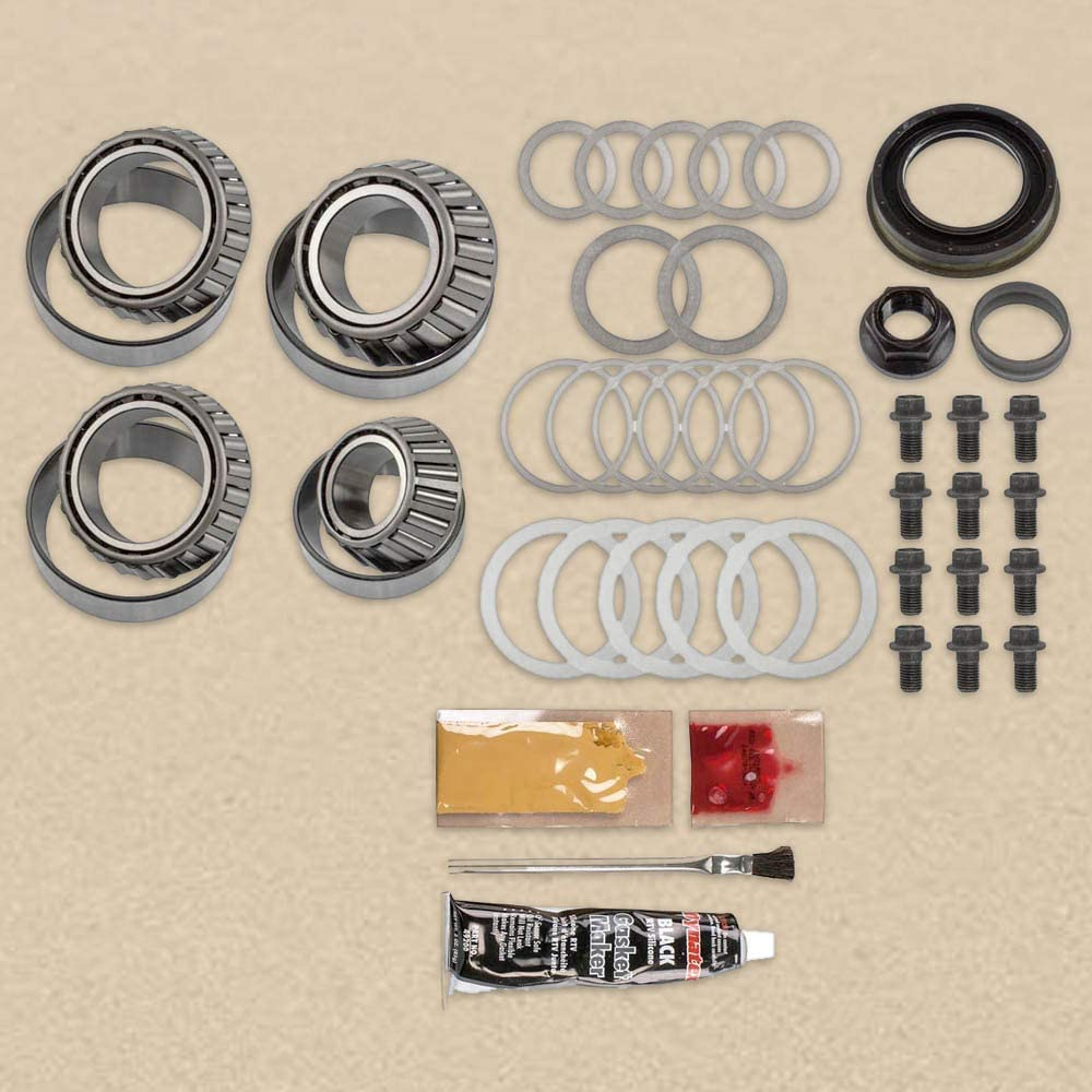 MASTER INSTALL KIT - TIMKEN BEARINGS - GM 9.5 12 BOLT - 2014+
