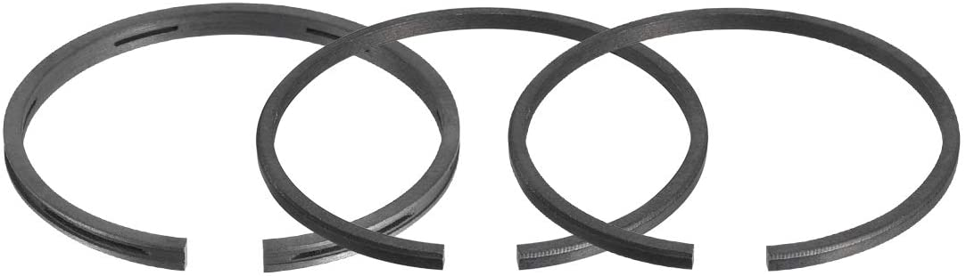 uxcell Engine Piston Ring Set 42mm Diameter Air Compressor Replacement Parts