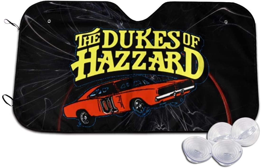 Dyfcnaiehrgrf Dukes of Hazzard G-Eneral L-Ee Car Windshield Sunshade Cover Sun Shade Car SUV Truck