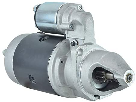 Rareelectrical NEW 10T 12V STARTER COMPATIBLE WITH JOHN DEERE TRACTOR 2450 2450F 2555 2650 2650F AL62690