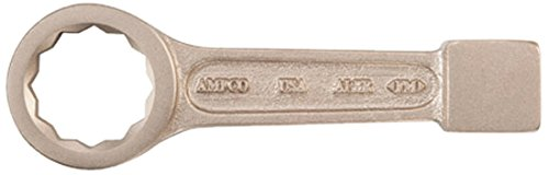 Ampco Safety Tools WS-1-3/16 12 Point Box Strike Wrench, Non-Sparking, Non-Magnetic, Corrosion Resistant, 1-3/16