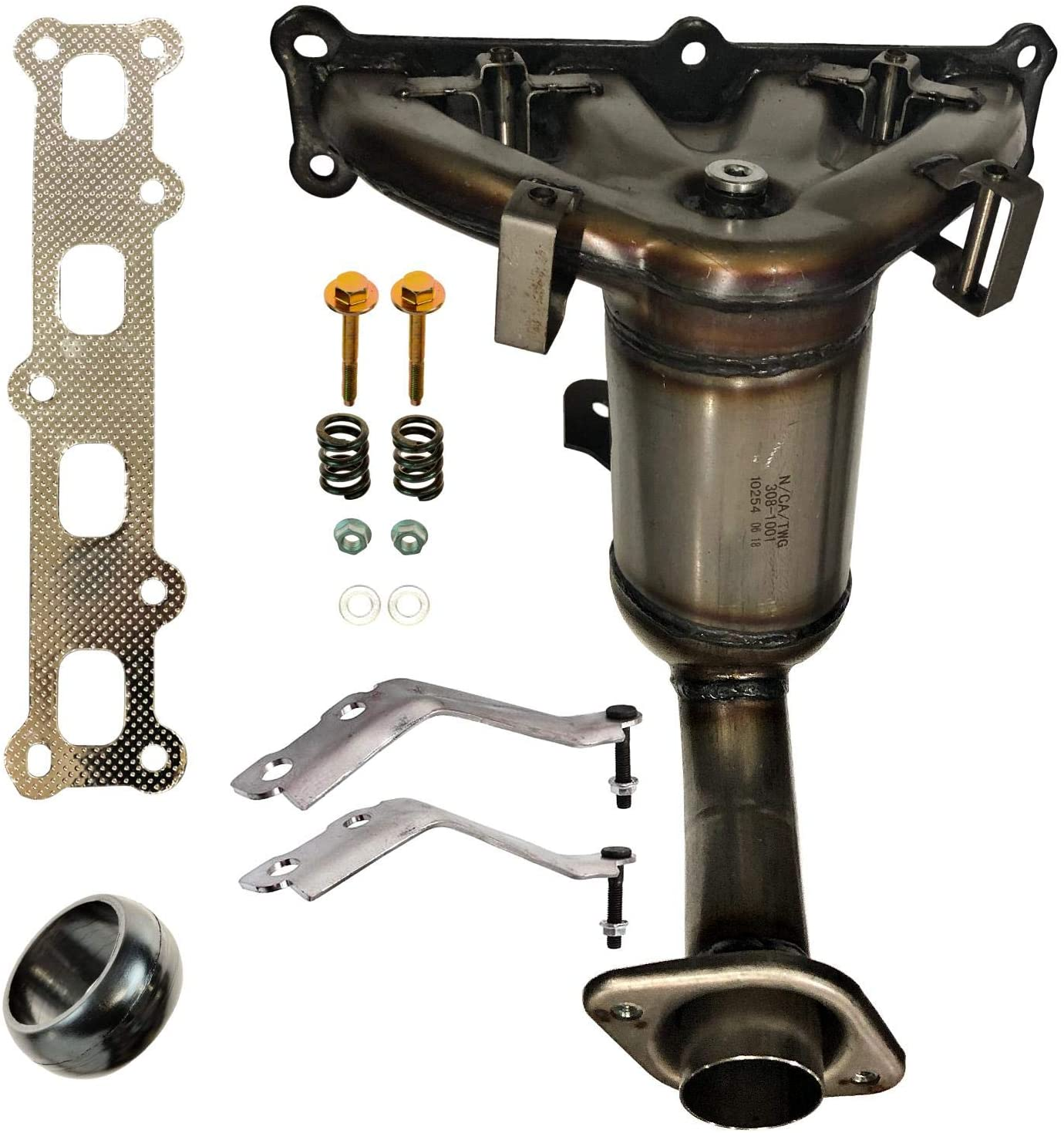 2007-2013 Jeep Compass 2.4L Exhaust Manifold with Catalytic Converter New