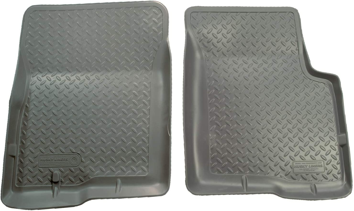 Husky Liners Fits 1997-03 Ford F-150 SuperCab/Standard Cab, 2004 Ford F-150 Heritage SuperCab/Standard Cab Classic Style Front Floor Mats