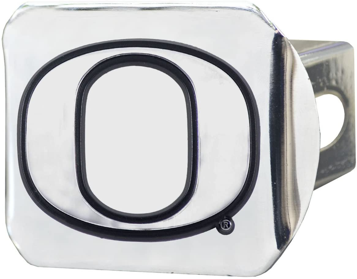 FANMATS NCAA University of Oregon Hitch Cover 3.4x4